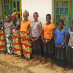 VVS stabilisées et ayant participé à la Cérémonie d'Esther à Manguredjipa,